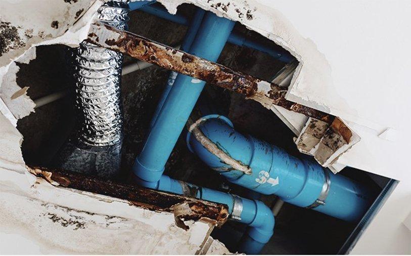 Slab Leak Detection | Ceiling Leak